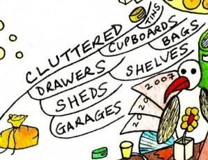 De-Clutter - Mind Map 5